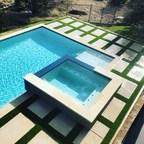 Artificial Grass Installation Enhances Austin Pool Deck