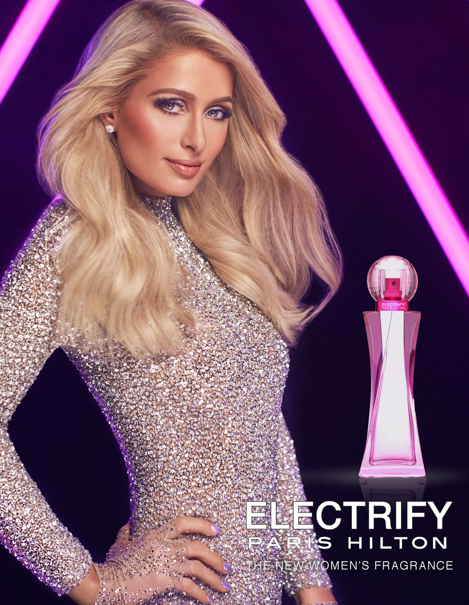 Paris Hilton announces her 25th fragrance: ELECTRIFY.
