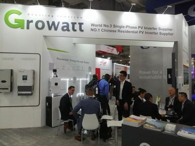 Growatt Showcased XH Storage Ready Inverter at SPI