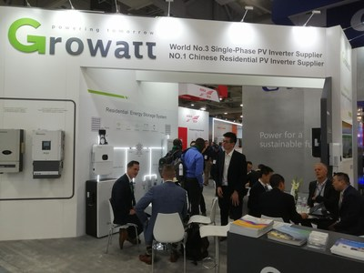 Growatt Showcased XH Storage Ready Inverter at Solar Power International
