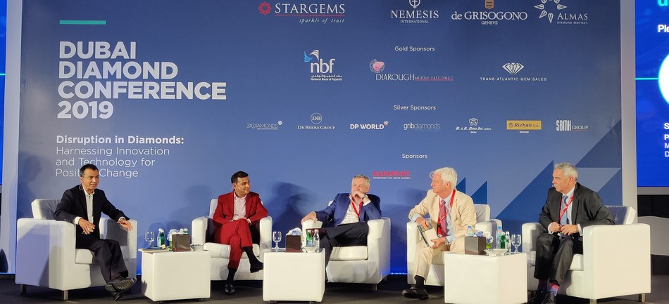 Amish Shah, Founder and CEO of ALTR Created Diamonds, spoke on a panel for the Dubai Diamond Conference on September 26th.