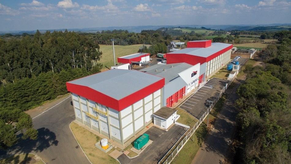 The new Kemin Nutrisurance production facility in Vargeão, Brazil
