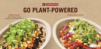 In addition to Chipotle's already customizable menu, the brand also offers preconfigured meatless menu items to make ordering effortless.