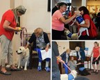 AAG Celebrates National Senior Citizens Day with Therapy Dog Partnership