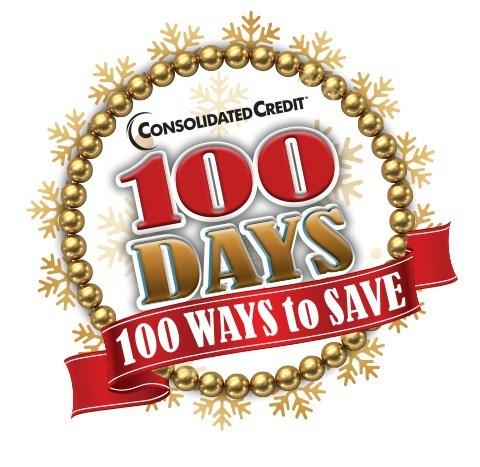 There are officially 85 days left to shop for the winter holidays. If you're living on a budget or trying to avoid debt, now is the time to start budgeting & planning. To enter the 100 Days 100 Ways contest, follow Consolidated Credit on your favorite social platform. Then retweet, like, share, pin and re-post each daily tip. For each action you'll get another entry into the contest. There's no limit to how many entries you can earn! There are 3 chances to WIN starting in October.