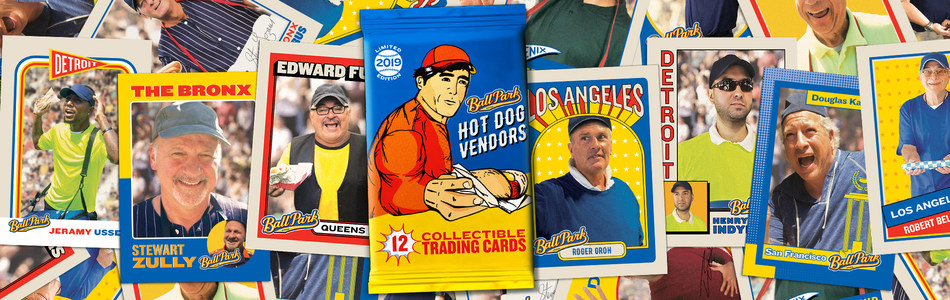 To honor those who serve up more than 18 million hot dogs to fans each year, Ball Park® brand announces the release of the first-ever set of trading cards championing the unsung heroes of the game – hot dog vendors.