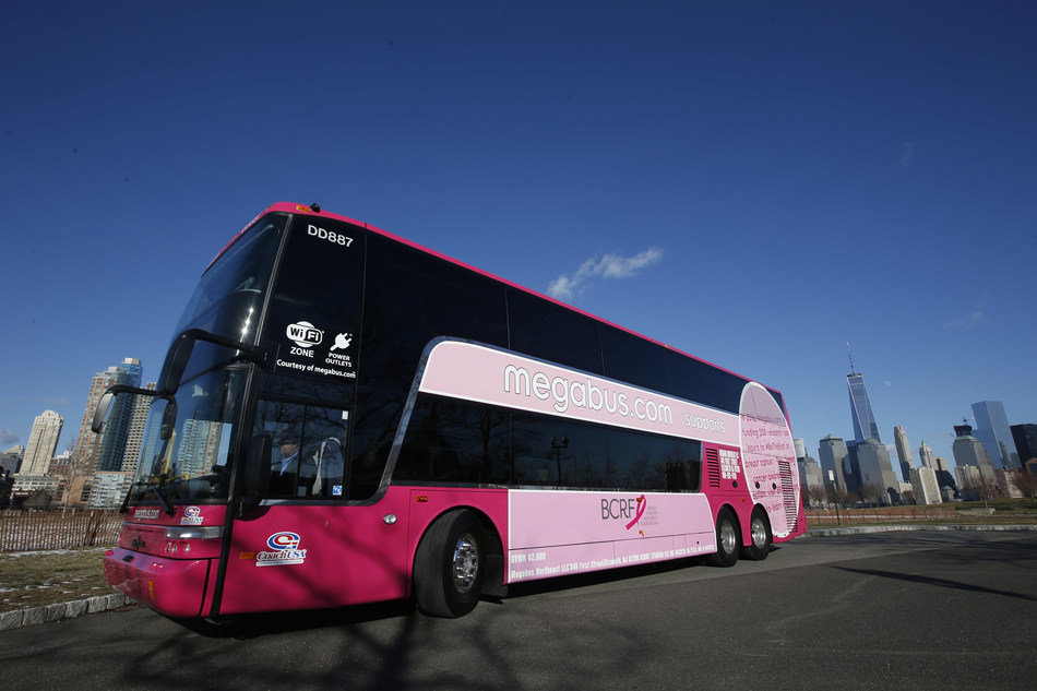 Megabus.com's Pink Bus