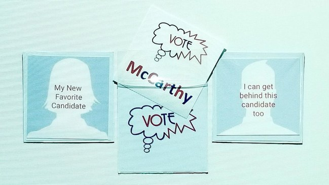 Users can update the message on this changeable magnetic bumper sticker easily and often. wevotebecause.com will have customizable templates so that users can focus on candidates or issues that matter most to them. The website will also link to valuable information regarding all things voting - just in time for Election 2020.