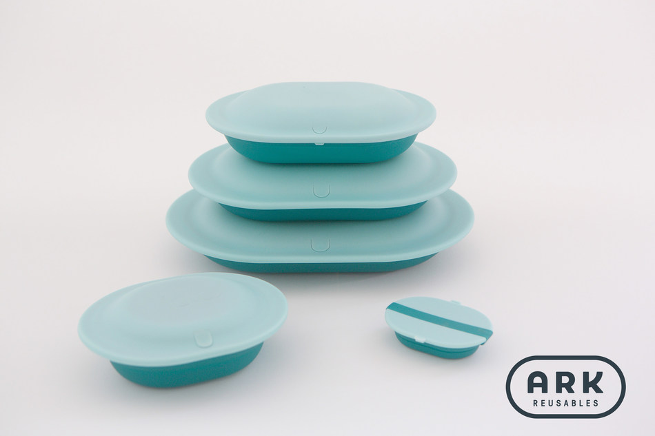 Ark Reusables launched its Kickstarter today. Ark Reusables are modern, sleek, collapsible, and reusable dishes designed for takeout. Founder, Beth Massa wants the Ark Reusables Kickstarter to shift our plastic take-out habit in an effort to prevent billions of single-use disposable food containers from entering and polluting the environment.