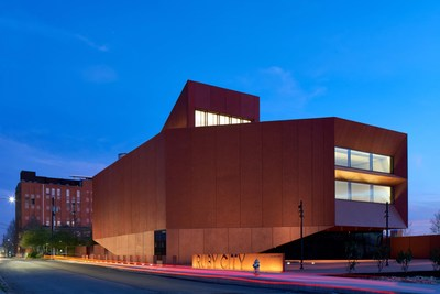 Exterior of major new contemporary art center Ruby City, opening October 13, 2019 in San Antonio. Ruby City designed by renowned architect Sir David Adjaye OBE as well as major exhibition of Mexican artist Sebastián, puts the Alamo City on art lovers' must-see lists. Photo © Dror Baldinger. Courtesy of Ruby City and Adjaye Associates.
