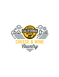 California Milk Advisory Board - Cheese & Wine Country Logo