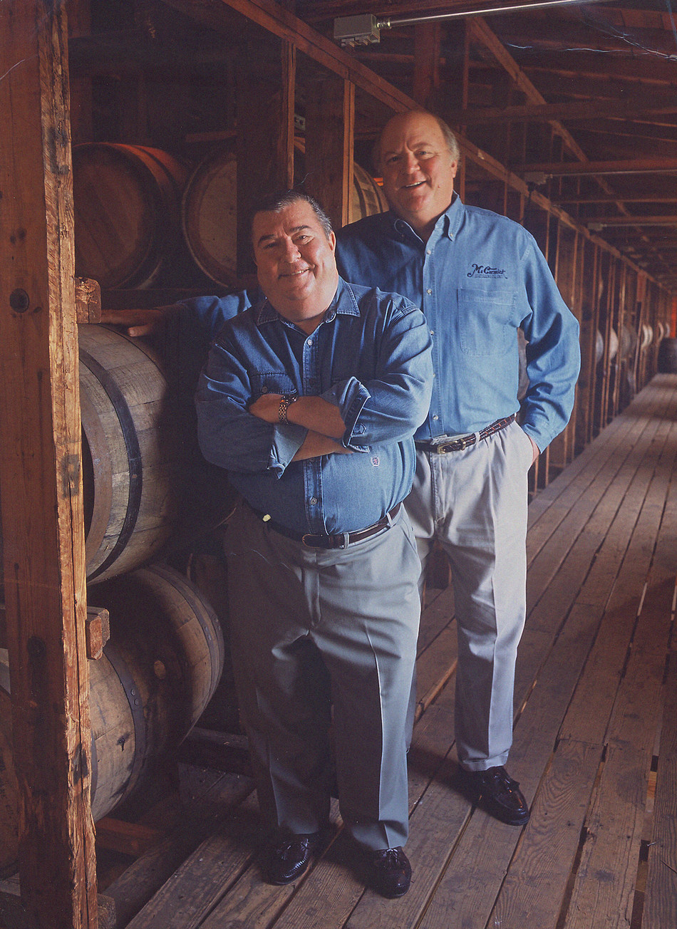 From left, Edward A. Pechar and the late Michael S. Griesser.