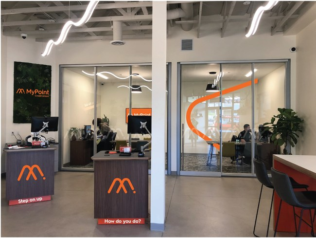 MyPoint Credit Union's New North Park Branch Experience