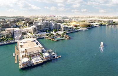 阿联酋首都斥资33亿美元打造海滨胜地现已取得重大进展