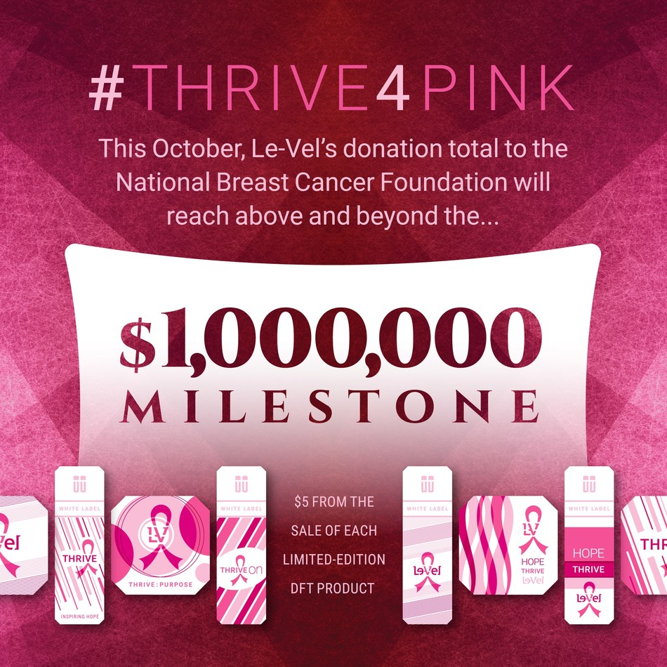 Le-Vel kicks off campaign to support breast cancer awareness
