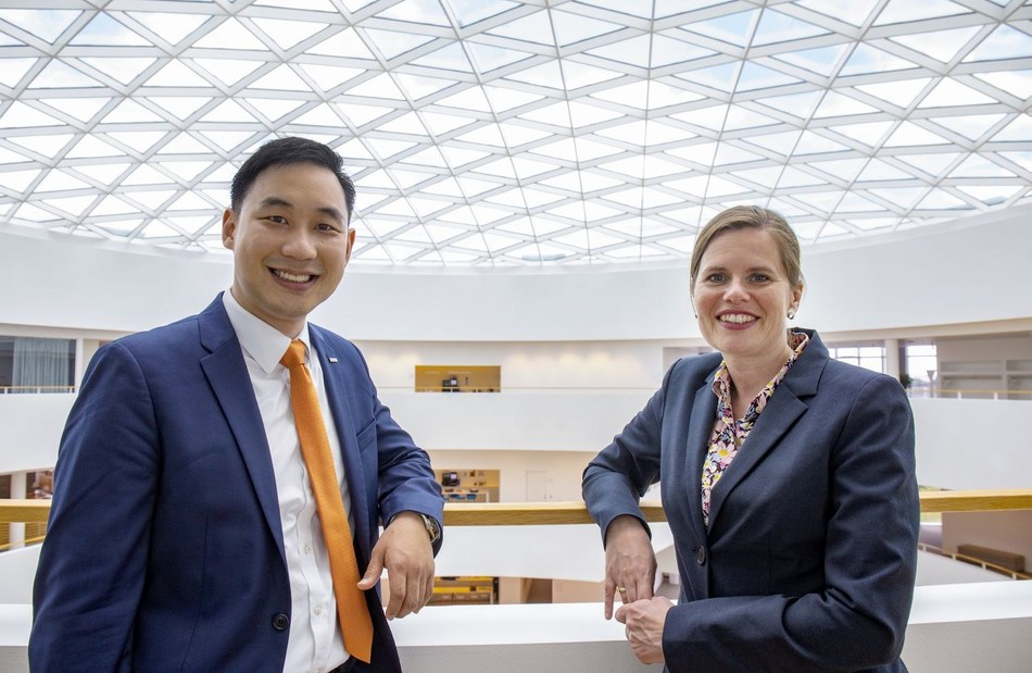 Saeju Jeong, Noom chief executive officer, and Camilla Sylvest, Novo Nordisk executive vice president, Commercial Strategy & Corporate Affairs.