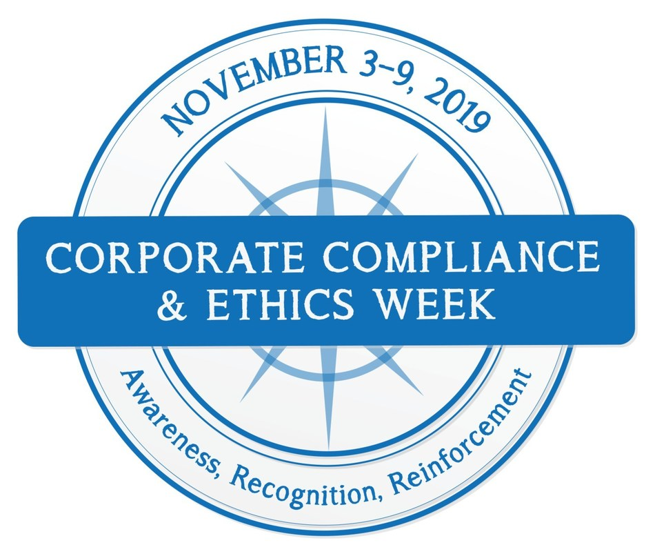 Celebrate Corporate Compliance & Ethics Week, November 3-9, 2019