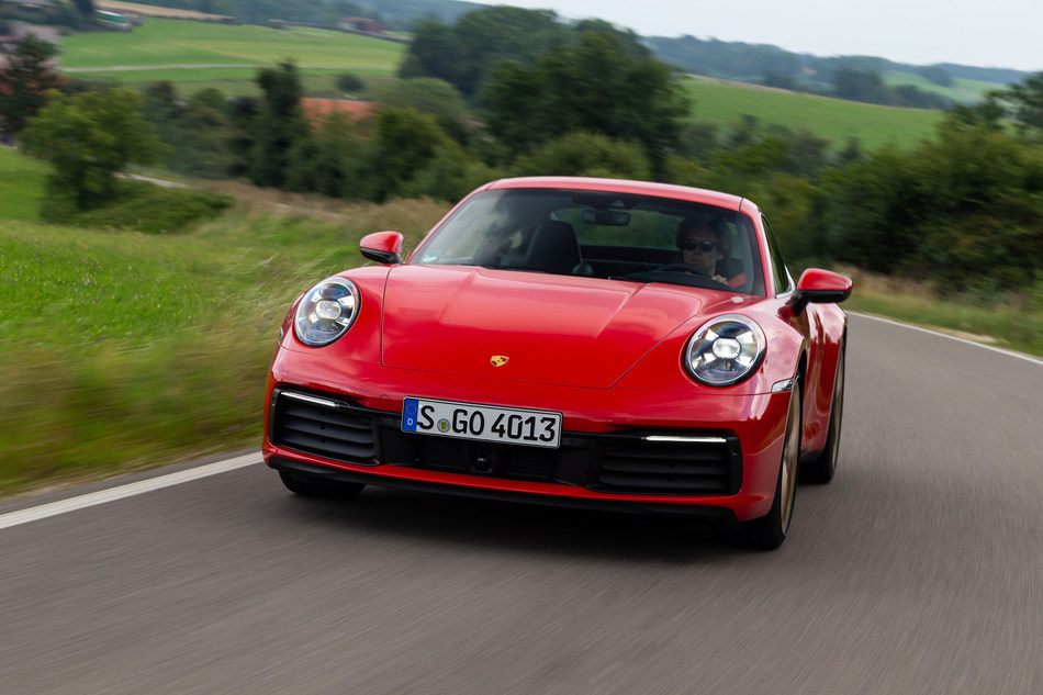 Sales of the Porsche 911 rose 24.3 percent from last September