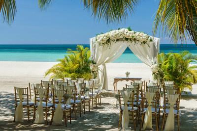 "Couples Swept Away Beach Gazebo - Say ""I-do"" on Jamaica's most stunning expanse of beachfront."