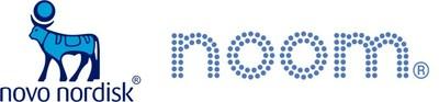 Novo Nordisk and Noom logos