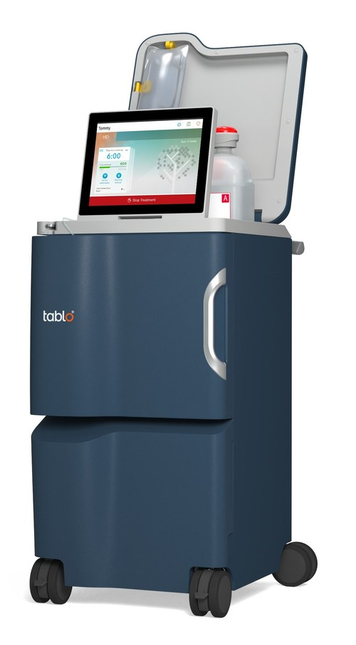 The Tablo Hemodialysis System (PRNewsfoto/Outset Medical)