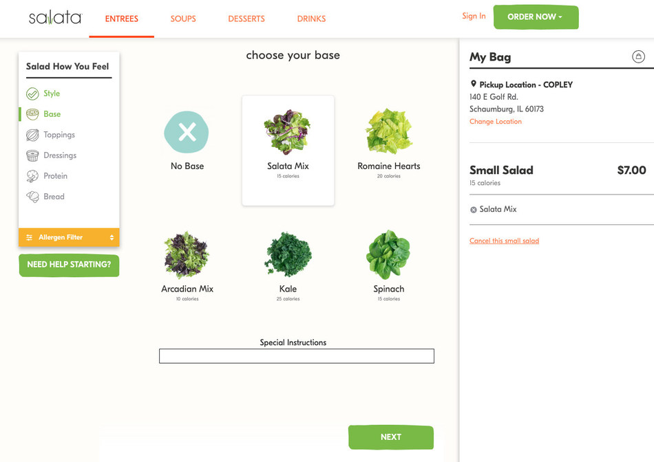 Chepri worked with Salata to provide best-in-class technology solutions, including an online ordering system to dramatically improve guest experience, and efficiently increase operational revenue.
