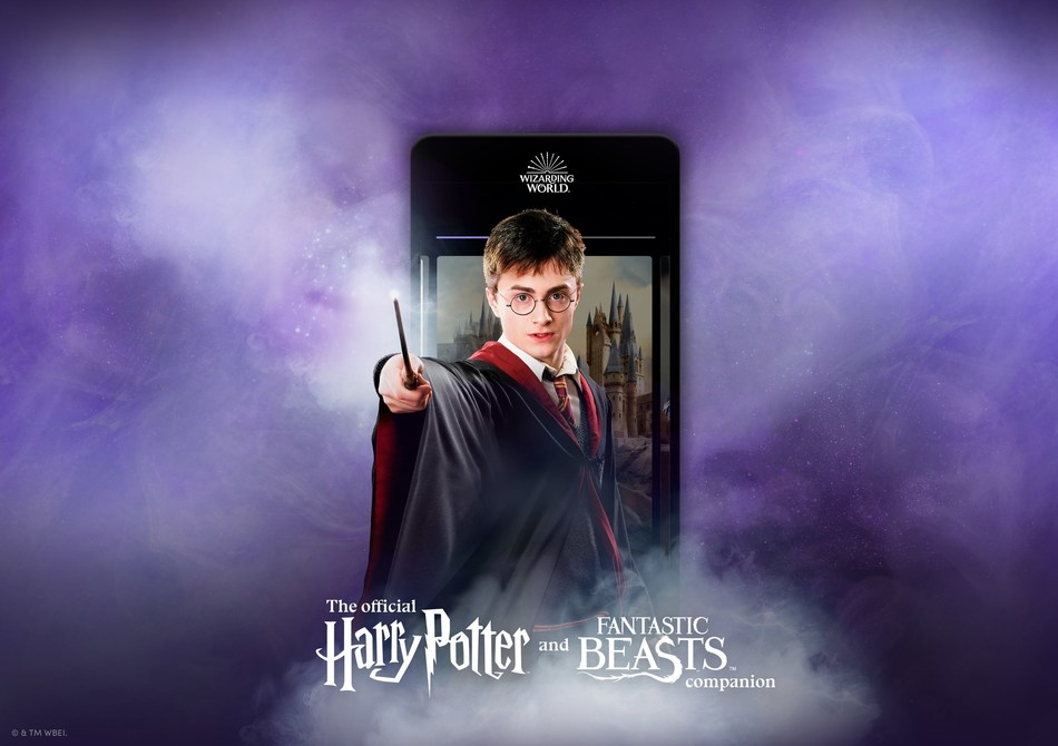 The Official Harry Potter and Fantastic Beasts companion (PRNewsfoto/Wizarding World Digital)