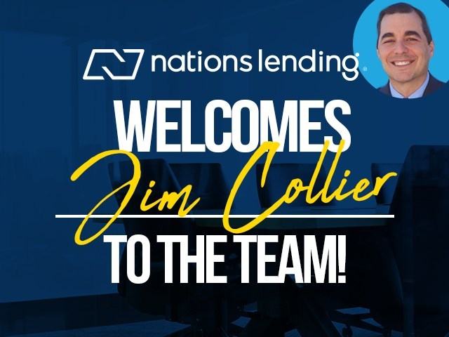 Nations Lending welcomes Jim Collier as the company's new Executive Vice President of Operations