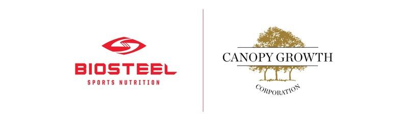 Logos: Biosteel / Canopy Growth Corporation (CNW Group/Canopy Growth Corporation)