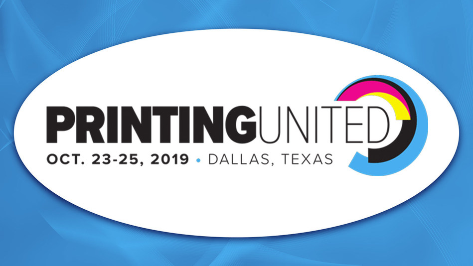 Canon Solutions America, Inc. will participate in PRINTING United in Dallas, Texas, October 23–25, 2019.