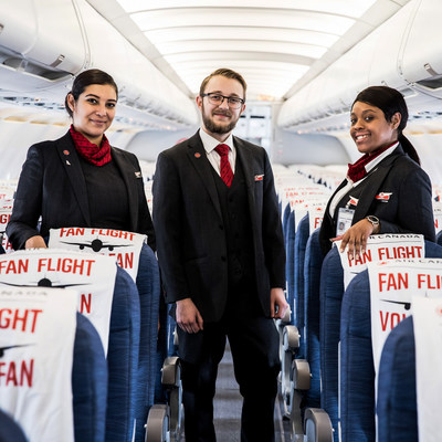 Air Canada Fan Flight Returns for 2019/2020 NHL Season (CNW Group/Air Canada)