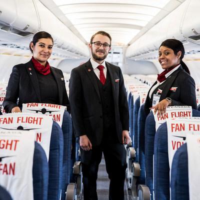 Le Vol de fan Air Canada est de retour pour la saison 2019 2020 de la LNH (Groupe CNW/Air Canada)