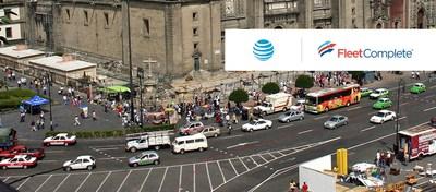 AT&T y Fleet Complete traen a México la siguiente generación de soluciones de vehículos conectados (CNW Group/Fleet Complete)