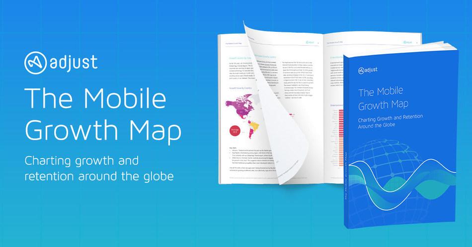 Adjust Mobile Growth Map