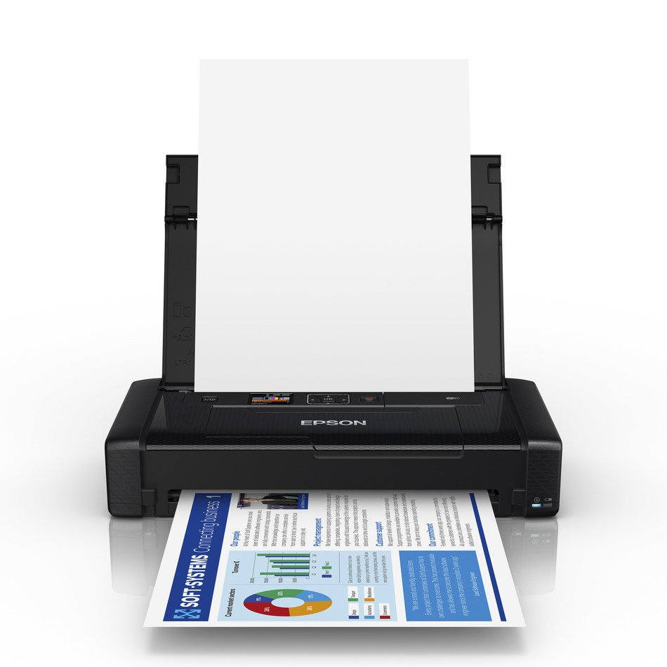 The Epson WorkForce WF-110 Wireless Mobile Printer