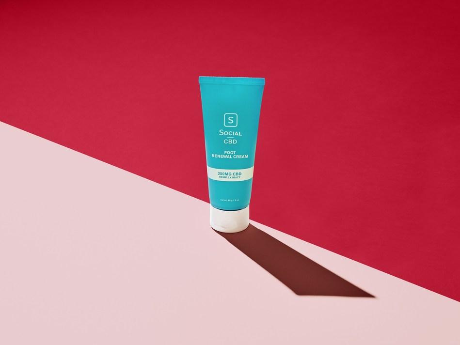 Social CBD Foot Renewal Cream
