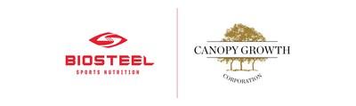 Logos : Biosteel / Canopy Growth Corporation (CNW Group/Canopy Growth Corporation)