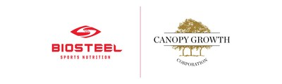 Logos : Biosteel / Canopy Growth Corporation (CNW Group/Canopy Growth Corporation)