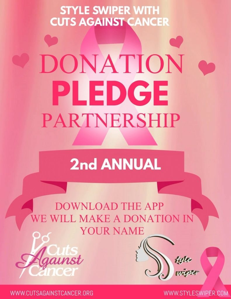 Style Swiper Announces Second Annual Donation Pledge Partnership with Cuts Against Cancer