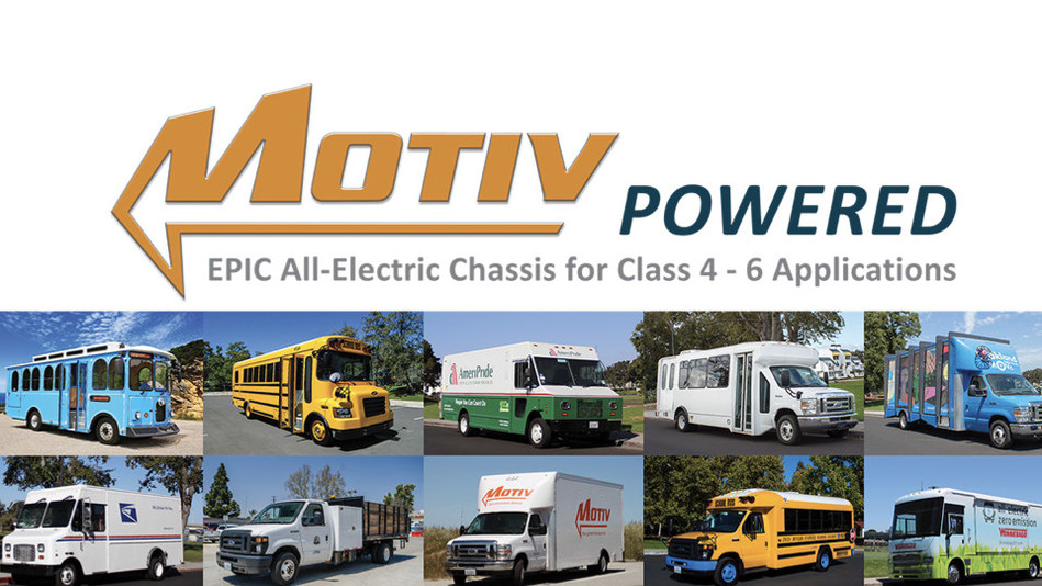 With partners like Ford, BMW, Winnebago, Spartan/Utilimaster, Champion Bus, Creative Bus Sales, Collins Bus, ABC, Transtech Bus, and more, Motiv has become a recognized leader in all-electric chassis for commercial trucks and buses.