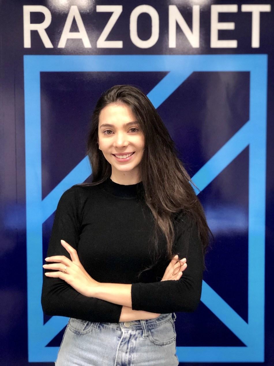 Luana Menegat, CEO da Razonet (foto: divulgação)