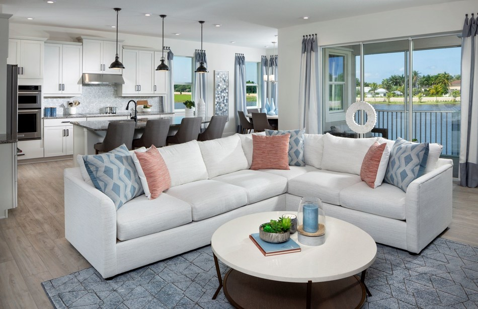 The Oceangrove Model Home at Mattamy Homes' Arboretum community in Naples, Florida. (CNW Group/Mattamy Homes Limited)