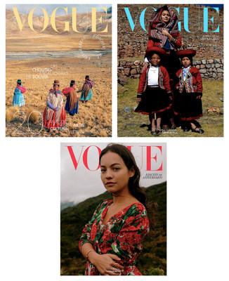 Las tres portadas de Vogue Latinoamérica