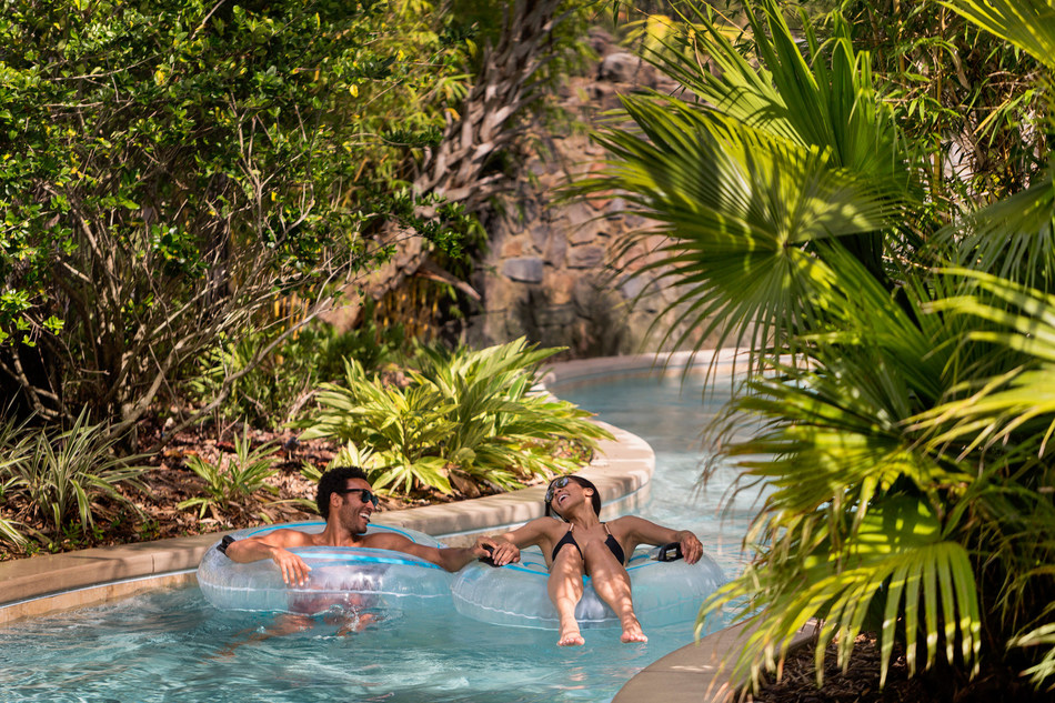 Experience the 5-acre Explorer Island water park, complete with a lazy river, two water slides, splash zone, family pool and more.