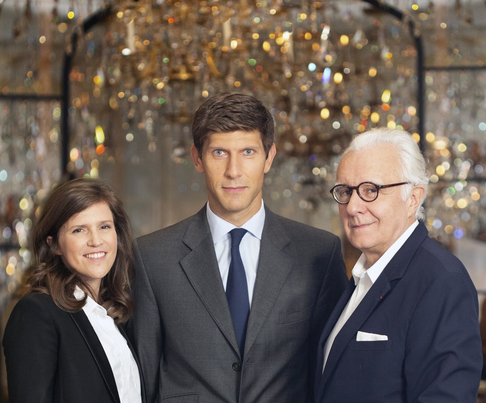 Elise Masurel, Benois-Etienne Domenget, Alain Ducasse - Copyright by Thierry Arensma.