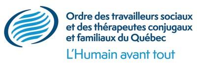 Logo : Ordre des travailleurs sociaux et des thérapeutes conjugaux et familiaux du Québec (Groupe CNW/Ordre des travailleurs sociaux et des thérapeutes conjugaux et familiaux du Québec)