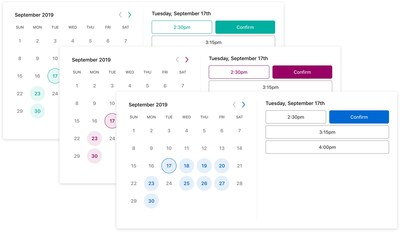 The Nylas Scheduler is fully customizable and can be embedded in any application with just a few lines of code.