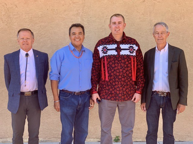 Executive Committee, Chair: Tom Teegarden, Vice-Chair: Randy Chitto (Choctaw), Secretary: Chris Youngblood (Santa Clara Pueblo), Treasurer: Mark Bahti
