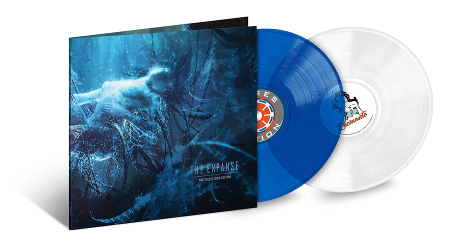 ASG Records, 10:22 pm, and UMe are pleased to announce today's preorder launch and release plans for 'THE EXPANSE' (Collector's Edition), a special, limited edition 2LP color vinyl set. To be released December 13, timed with the acclaimed show's Season 4 premiere on Amazon Prime Video, the Collector's Edition vinyl set is limited to 2,253 copies (the series takes place in the year 2253).