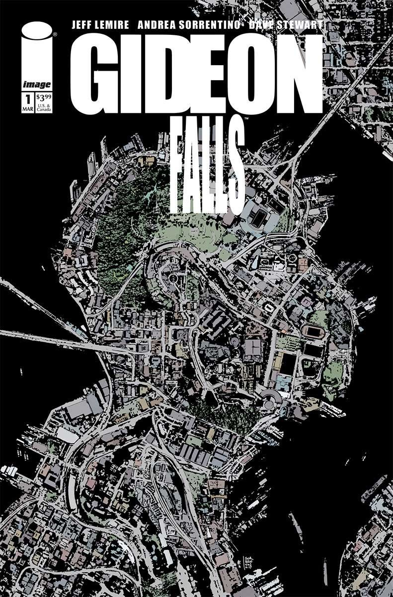 GIDEON FALLS #1 | Cover Art by Andrea Sorrentino (Published by Image Comics)
